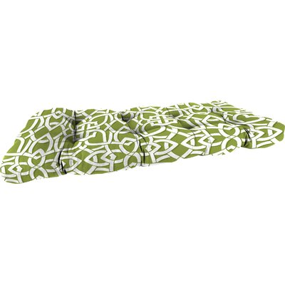 Outdoor Bench Cushion Fabric: Greystone Willow