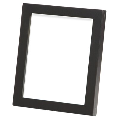 Hancock Gallery Picture Frame Color: Satin Black, Size: 12