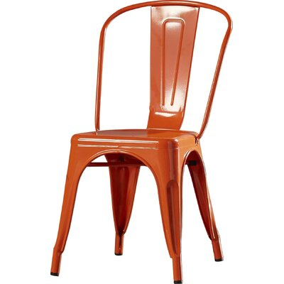 Collier Dining Side Chair Finish: Orange