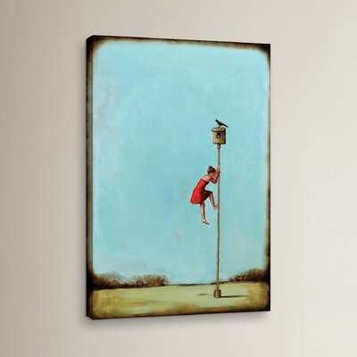 Competition Painting Print on Wrapped Canvas Size: 12