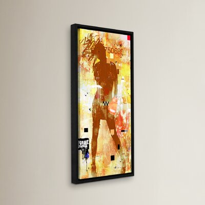 Knockout Framed Graphic Art