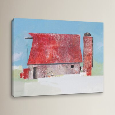 Barn No. 36 Painting Print on Wrapped Canvas Size: 14