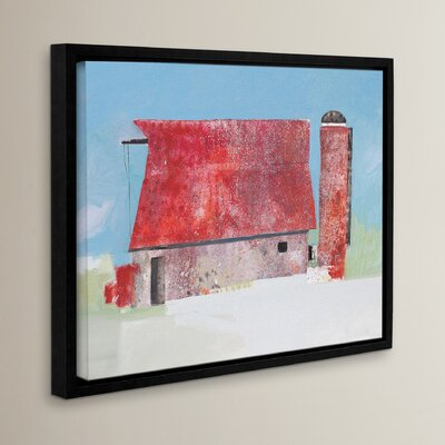 Barn No. 36 Framed Painting Print on Wrapped Canvas Size: 14