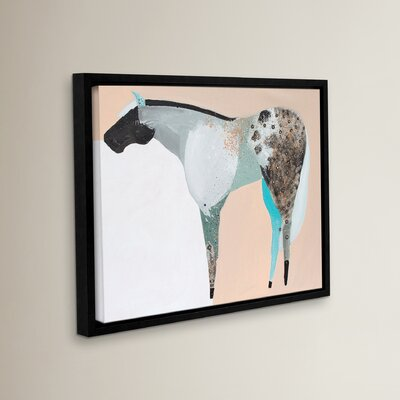 Horse No. 65 Framed Painting Print on Wrapped Canvas Size: 14