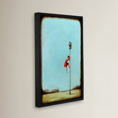 Competition Framed Painting Print on Wrapped Canvas Size: 18