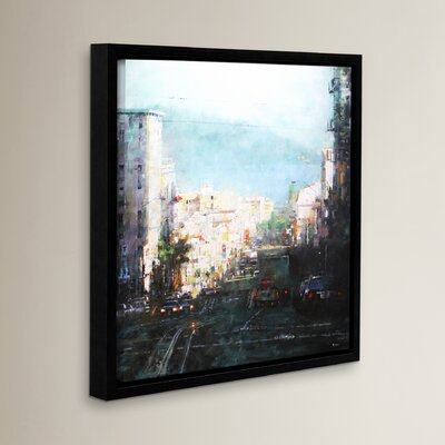 Bay Mst Framed Painting Print on Wrapped Canvas Size: 10