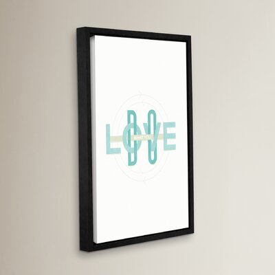 Do What You Love Framed Textual Art