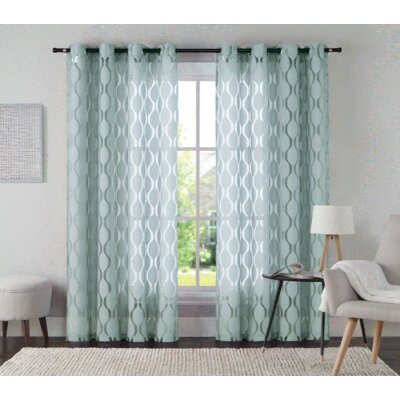Alma Single Curtain Panel