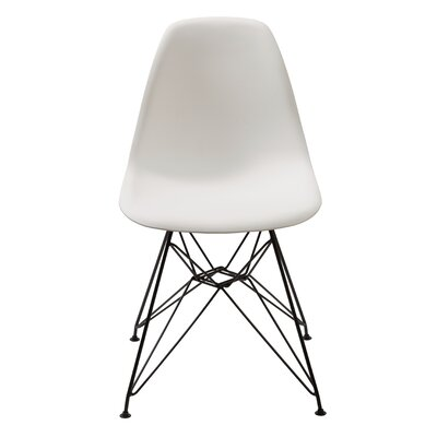 Prudence Side Chair (Set of 2) Upholstery: White