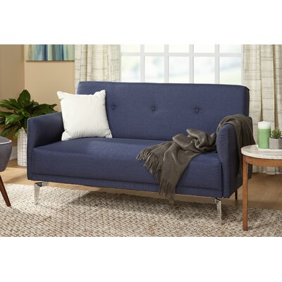 Ruzicka Standard Loveseat Finish: Navy