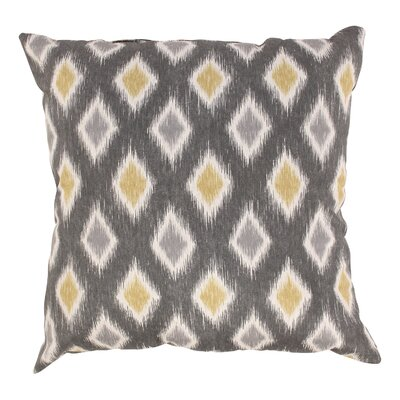 Rutherford Cotton Throw Pillow Size: 23 x 23