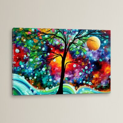 'A Moment in Time' by Megan Duncanson Graphic Art on Wrapped Canvas Size: 12