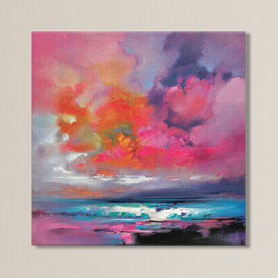 Cataclysm by Scott Naismith Print Painting on Wrapped Canvas Size: 12