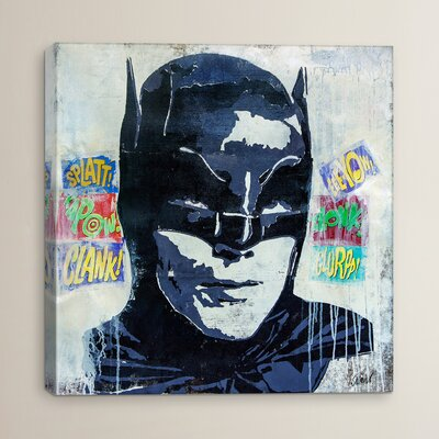 Kapow by Francis Ward Print Painting on Wrapped Canvas Size: 12