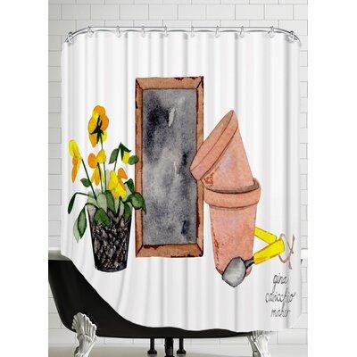 Gina Maher Anzalone Gardener Shower Curtain