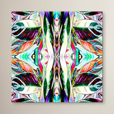Feather Leaf 2 by Rose Anne Colavito Graphic Art Size: 10