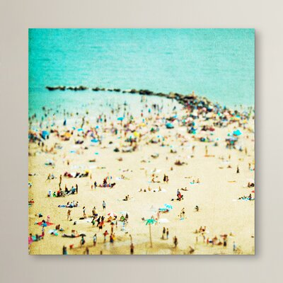 Coney Island Beach by Rose Anne Colavito Photographic Print Size: 10
