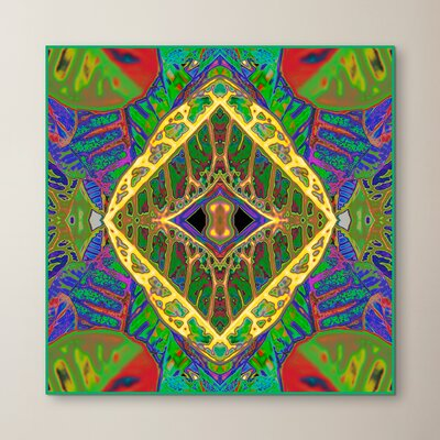 Croton Shield 2 by Rose Anne Colavito Graphic Art