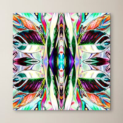 Feather Leaf by Rose Anne Colavito Graphic Art Size: 10