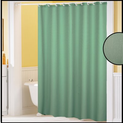 Clybourne Waffle Weave Shower Curtain