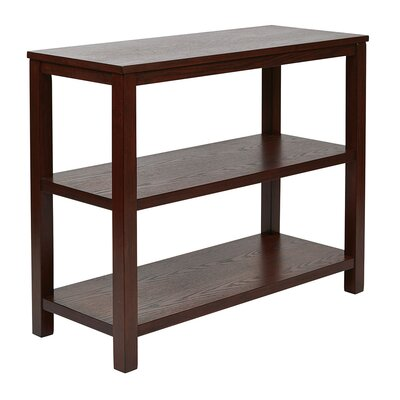 Crown Heights End Table Color: Mahogany