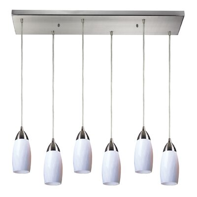 Bensenville 6-Light Kitchen Island Pendant