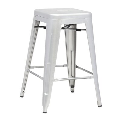 Clever 25 Bar Stool Finish: Gunmetal