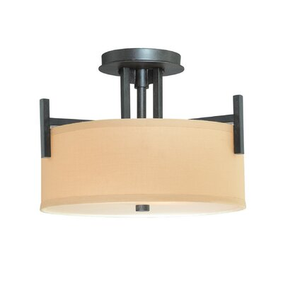 Hirst 2-Light Semi-Flush Mount Finish: Olde World Iron