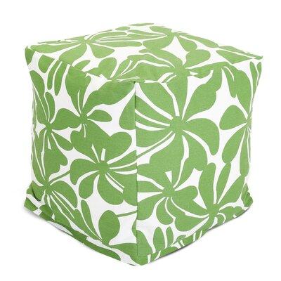 Monterey Cube Ottoman Color: Sage