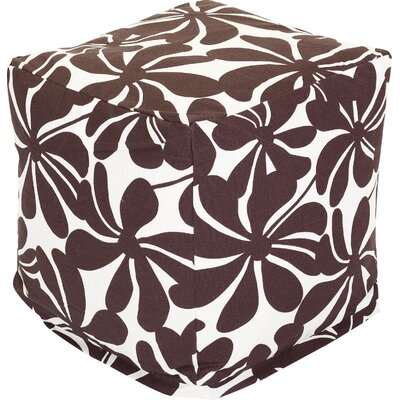 Monterey Cube Ottoman Color: Chocolate