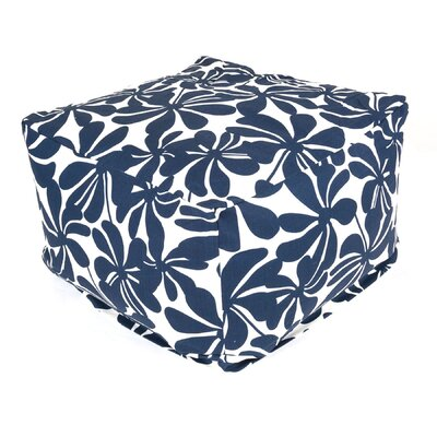 Monterey Bean Bag Ottoman Color: Navy Blue