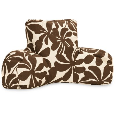 Egerton Indoor/Outdoor Bed Rest Pillow Color: Chocolate