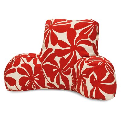 Monterey Indoor/Outdoor Bed Rest Pillow Color: Red