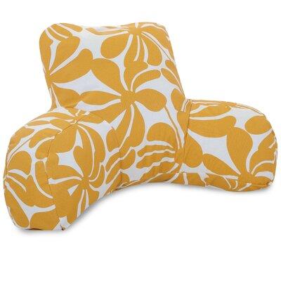 Monterey Indoor/Outdoor Bed Rest Pillow Color: Yellow