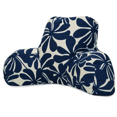 Egerton Indoor/Outdoor Bed Rest Pillow Color: Navy