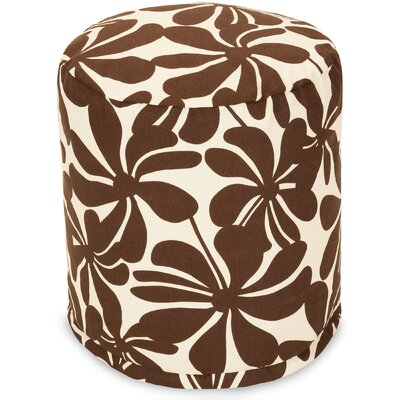 Monterey Ottoman Fabric: Chocolate