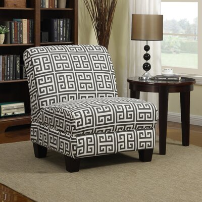 Havertown Slipper Chair Upholstery: Smoky Charcoal Gray