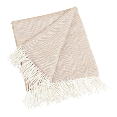 Elkins Park Throw Blanket Color: Camel