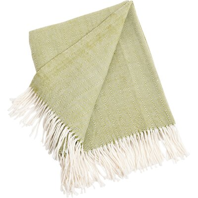 Elkins Park Throw Blanket Color: Grass