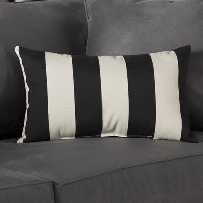 Minden Lumbar Pillow Color: Black