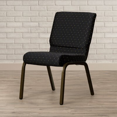 Collier Guest Chair Seat Finish: Black Patterned