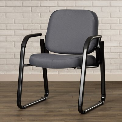 Jude Guest Arm Chair Color: Gray