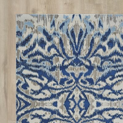 Beach Channel Blue Haze Area Rug
