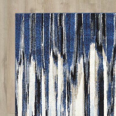 Beach Channel Indigo Area Rug