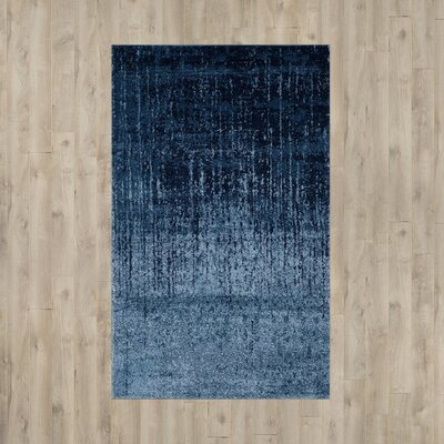 Tenth Avenue Light Blue / Blue Area Rug Rug Size: Rectangle 8 x 10