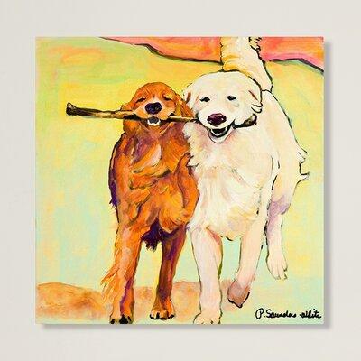 Stick With Me Canvas Giclee Print