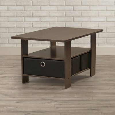 Kenton Coffee Table Color: Dark Brown / Black