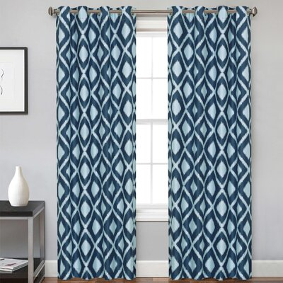Nico Grommet Curtain Panel Pair