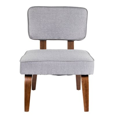 Narberth Slipper Chair Upholstery: Grey