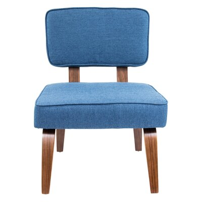 Narberth Side Chair Upholstery: Navy Blue